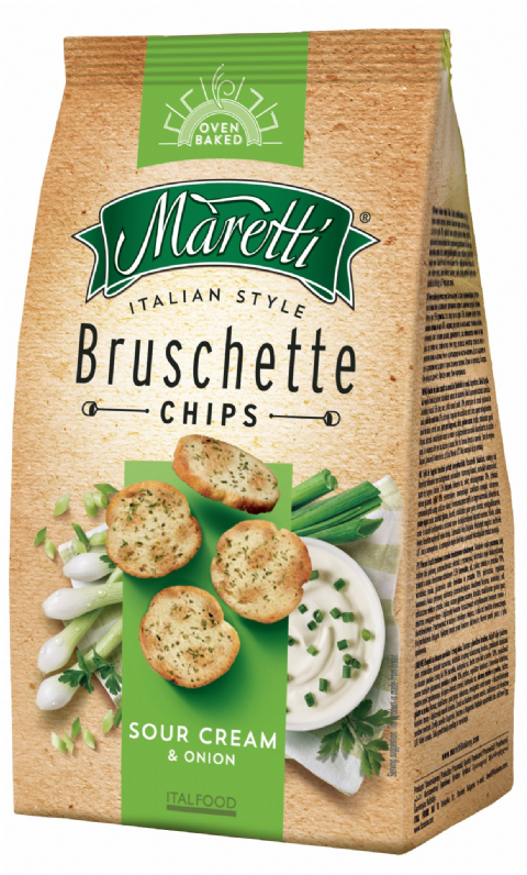 Bruschette Sour Cream & Onion 150g